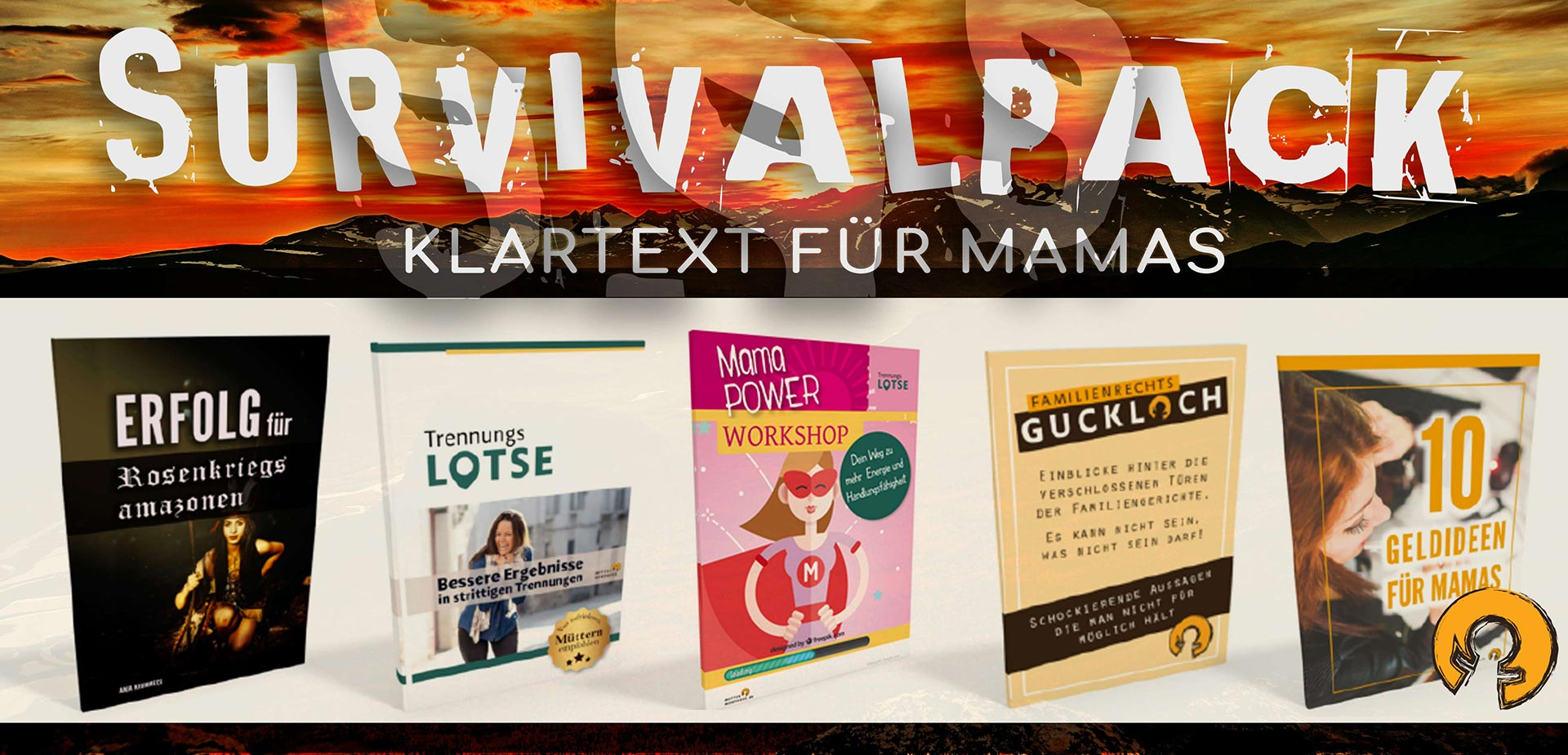 SURVIVAL PACKS FÜR MAMAS
